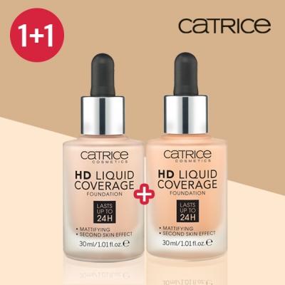 1+1[캐트리스] HD리퀴드 커버리지 파운데이션