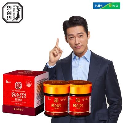 [농협홍삼 한삼인]홍삼정프라임 120g_2세트+쇼핑백