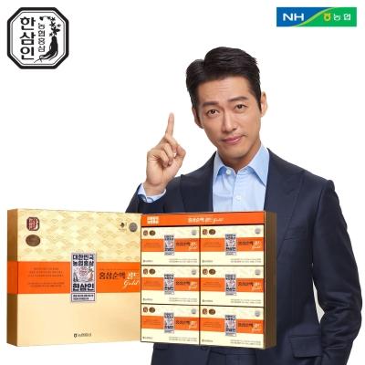 [한삼인] 홍삼순액골드 70mL x 60포_1세트+쇼핑백