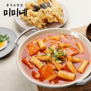 홍대 미미네 국물떡볶이 오리지널 3인분 590g 1팩